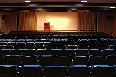 Auditorium, Ethnological Museum Berlin Dahlem
